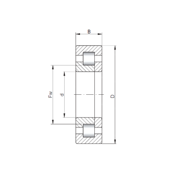 NUP420 CX Cylindrical Roller Bearings