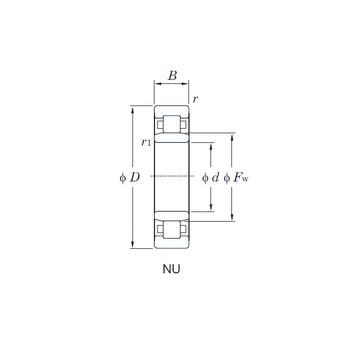 NU305 KOYO Cylindrical Roller Bearings